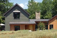 Miche Booz Architect Designs a Sustainable Weekend Cottage in Virginia