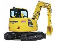 Midsize hydraulic excavator