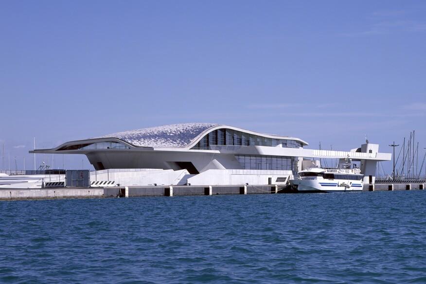 Salerno Maritime Terminal, by Zaha Hadid Architects