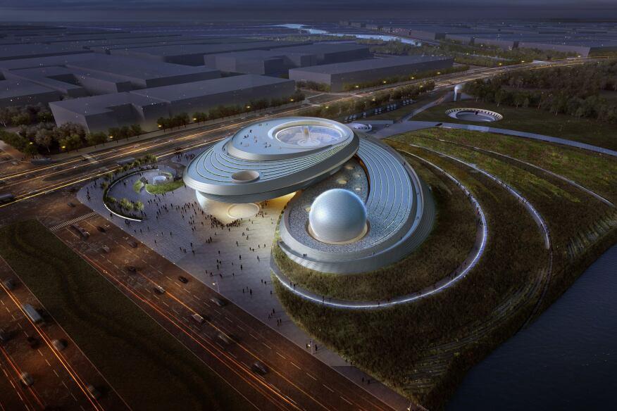 Shanghai Planetarium, Thomas Wong/Ennead Architects, Shanghai
