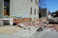 Spring Winds Demolish Older Buildings