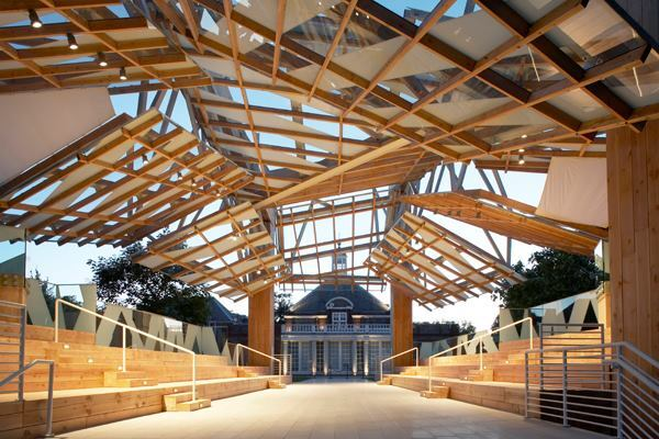 Serpentine Gallery Pavilion 2008, designed by Frank Gehry