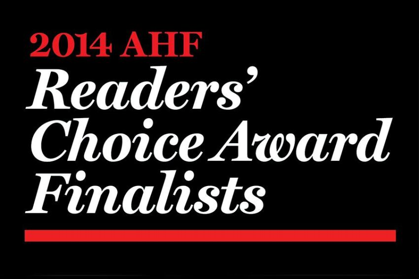AHF Readers' Choice Finalists Unveiled