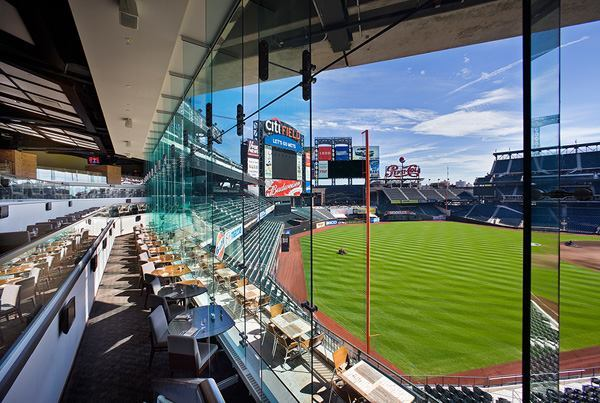 CitiField, Mets Baseball Stadium, New York, by Populous.