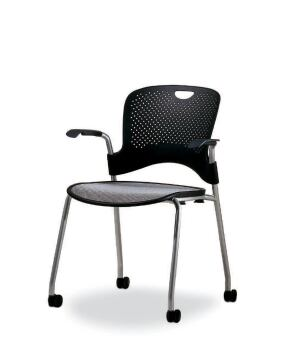 Designed by Jeff Weber  Caper is a family of multipurpose and stacking  chairs from Herman Miller  The stackable option measures 32 5  high  17 5   wide   Herman Miller Caper   Architect Magazine   Furniture  Green  . Herman Miller Caper Multipurpose Chair. Home Design Ideas
