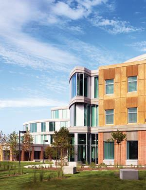 The University of California Humanities Gateway building on the Irvine, Calif., campus is design/build structural concrete construction. The general contractor hired the design team and presented the design to the owner for approval.