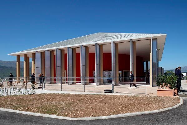 Paper Concert Hall, L'Aquila, Italy, 2011.