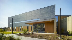 "According to ZGF Architects, ""the new St. Charles Cancer Center in Bend, OR