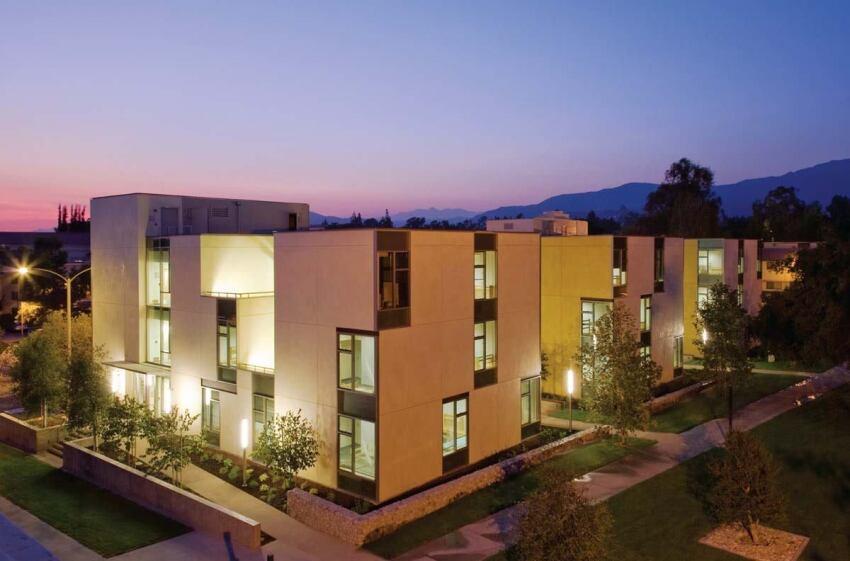 claremont mckenna college residence hall, claremont, calif.