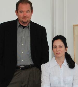 Byron Kuth and Elizabeth Ranieri