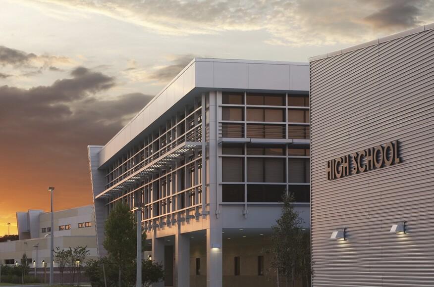 Strawberry crest high school residential architect for Florida residential architects