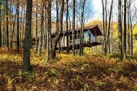 Catskills Guest House and Artist Studio, designed by Cutler Anderson Architects