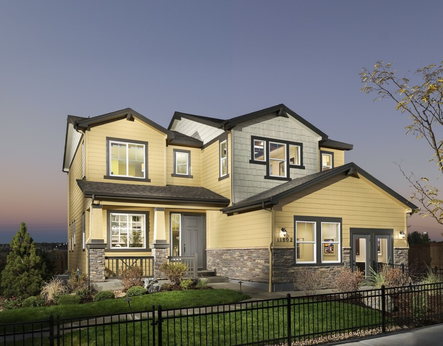 Century Communities'  Salisbury Heights community in Parker, Colo. won a Gold Award.