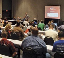 Educational seminars are popular at the International Concrete Polishing & Staining Conference, which takes place Sept. 30-Oct. 3, in Duluth, Ga.