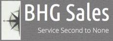 BHG Sales Logo