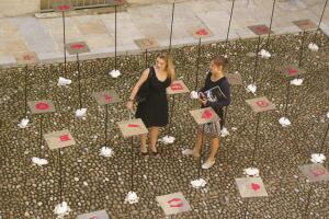 Prolepsis, an installation in Montpellier by Toulouse, France-based design collective RNDM+.