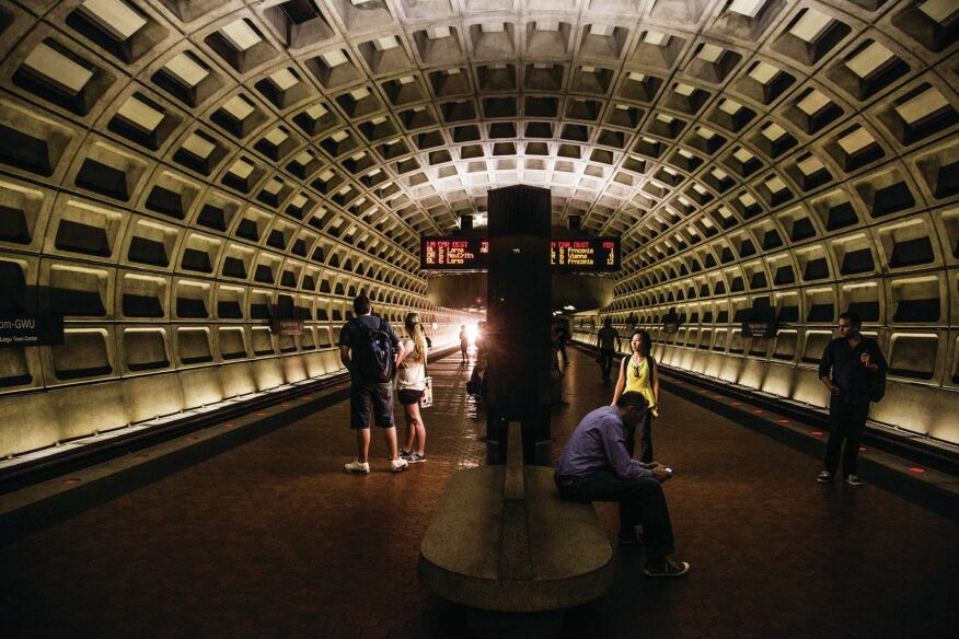 The Foggy Bottom station
