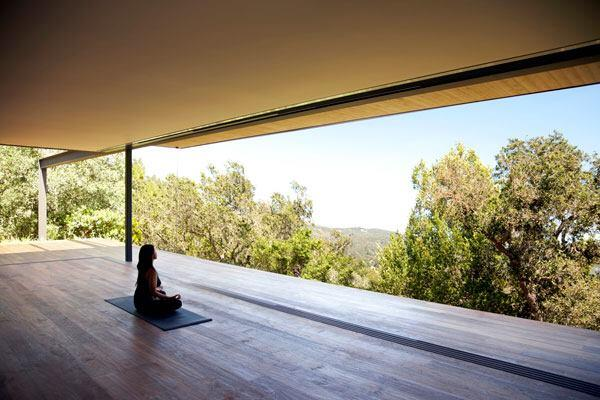 Yoga and meditation studio.