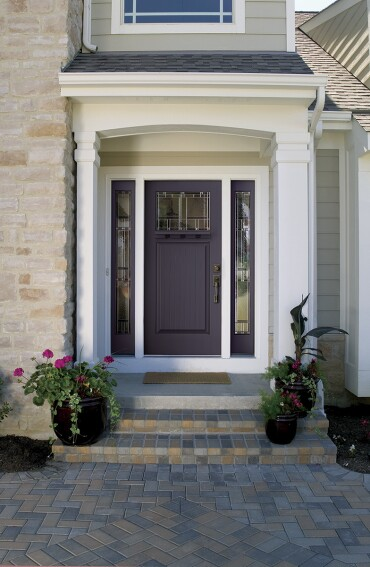Look for Bold, Bright Entry Doors in 2014