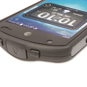 Water resistance on most IP-rated smartphones relies on sealed buttons, but also depends on the user to manually seal ports. This example, a Kyocera Duraforce, features a 4.5-inch HD display that users can operate with work gloves. It's a MIL-STD 810–certified, IP68 Android phone with a 3,100 mAh battery rated at 17 hours talk time.