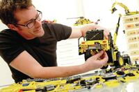 Volvo and LEGO create powerhouse toy