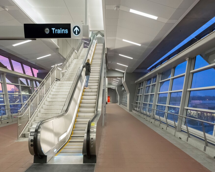 2015 AL Design Awards Dulles Metro Rail Silver Line Northern Virginia Arc