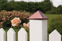 Kokille Easy-Install Decorative Post Caps