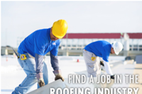 Online Career Center Matches Roofing Pros with Jobs