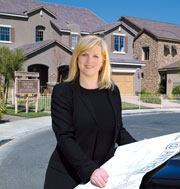 As division president of Richmond American Homes in Las Vegas, Liesel Williams oversees 137 employees.