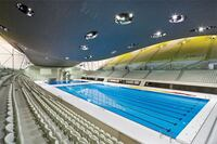 Slideshow: The London Aquatic Centre