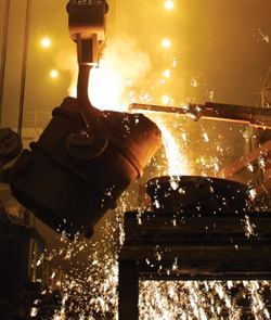 Blast furnace slag, a byproduct of iron-making, qualifies as a supplementary cementitious material in the Cool Climate Concrete program.