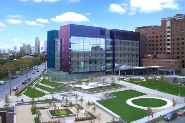 University of Minnesota Amplatz Children's Hospital, Minneapolis, by Tsoi/Kobus & Associates.