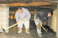 Fixing a Wet Crawlspace