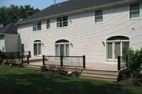 Railings for Grade-Level Decks