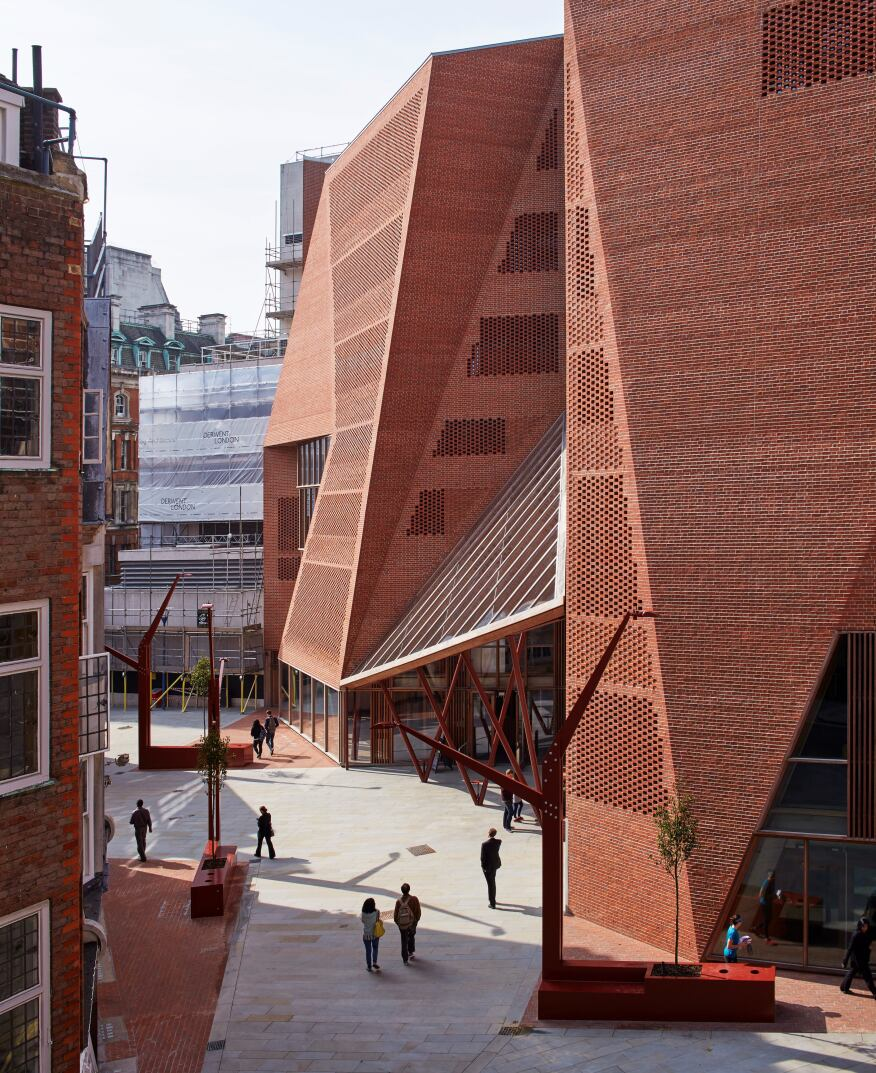 London School of Economics Saw Swee Hock Student Centre, O'Donnell + Tuomey Architects, London
