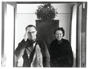 John and Dominque de Menil, who emigrated from Paris to Houston in 1941.