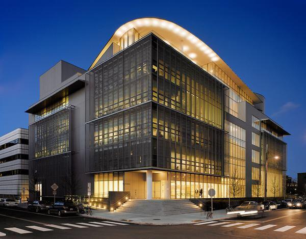 MIT Media Lab, Cambridge, Mass., by 2011 AIA Gold Medal winner Fumihiko Maki, Hon. FAIA, of Maki and Associates with Leers Weinzapfel Associates.
