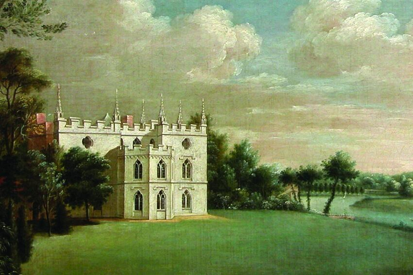 Horace Walpole's Strawberry Hill, Yale Center for British Art