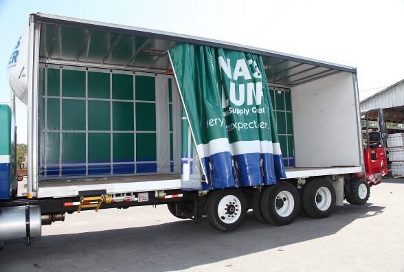 One of the custom trucks in the Naples Lumber fleet.