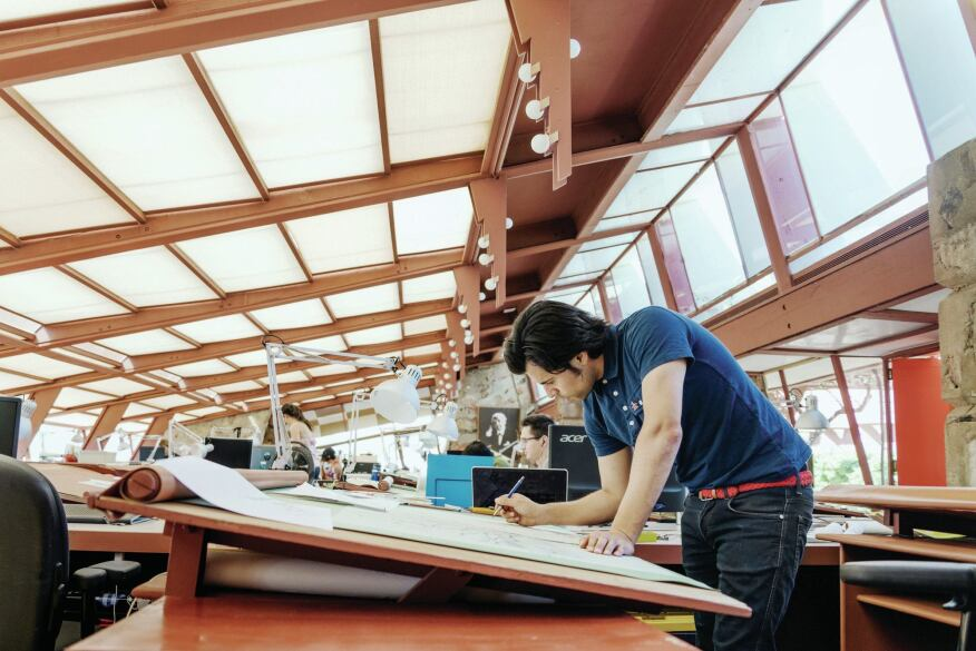 Seeking The Wright Path At Taliesin West Architect
