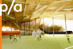 Soccer Centre at St. Michel Environmental Complex