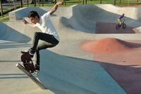 Smooth Sailing for All-Concrete Skate Park