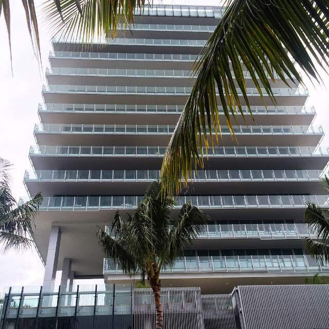 Rene Gonzalez's Glass 120 project, which recently opened in Miami's South of Fifth district.