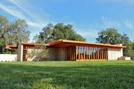 Usonian House at Florida Southern College