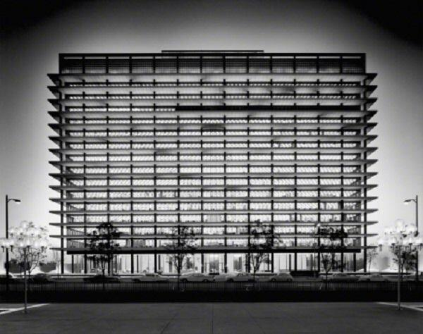 A.C. Martin, Department of Water and Power Building, 1965.