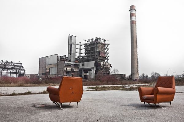 """""""Metamorphosis."""" An abandoned industrial site in Fusina near Venice, Italy. 2014 Sony World Photography Awards Professional Competition shortlist in the Architecture category."""