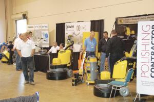 Twenty-five exhibitors display their equipment and services.