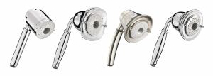 American Standard now includes hand showers in its FloWise collection. The expanded FloWise line is designed to meet water-saving needs, and a family of four can save about 11,000 gallons of water annually by replacing an older showerhead with one of its 1.5gpm models, according to the company. Three-function showerheads and hand showers offer a 1.5gpm turbine spray as well as a full spray and a combination of the full and turbine sprays, both of which consume a maximum 2gpm. The collection comes in polished chrome, blackened bronze, polished brass, stainless steel, and satin nickel. americanstandard-us.com