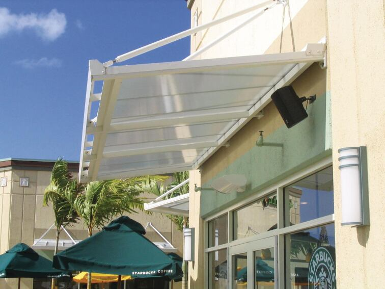 CPI Daylighting's LiteBrow is a storefront daylighting solution