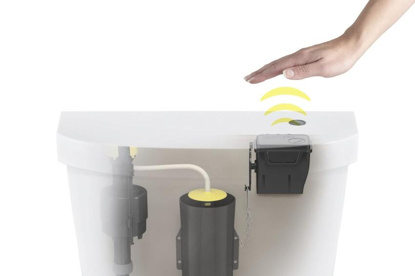 Touchless Toilet for the Home
